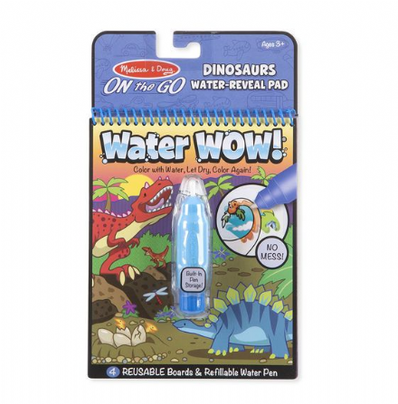 Melissa & Doug On the Go - Dinosaurs Water Wow!